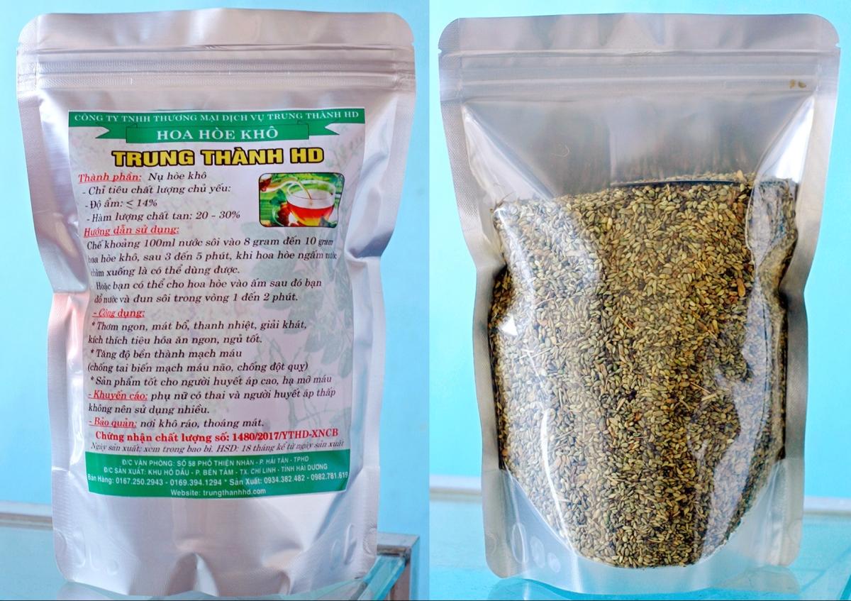 Sản phẩm Hoa Hòe Khô nguyên nụ chất lượng cao Trung Thành HD gói 500 gram